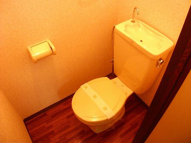 アビタシオンMIWA 101号室のトイレ