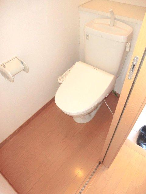 Rose Foliarのトイレ