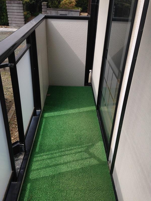 ウィンディア飯田 102号室のバルコニー