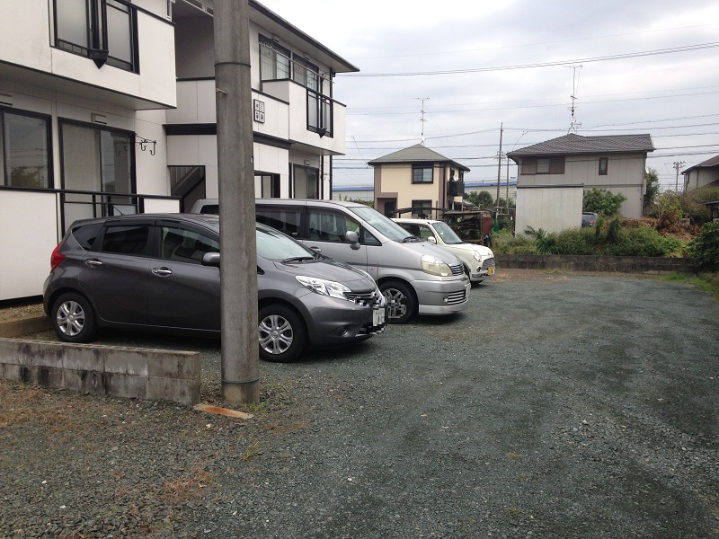 ウィンディア飯田 102号室の駐車場