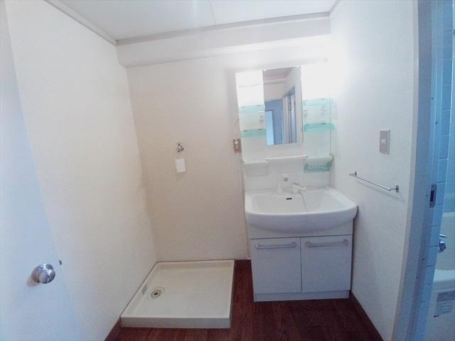 都築ハイツ 205号室の洗面所