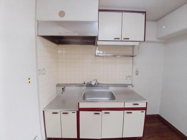 都築ハイツ 205号室のキッチン