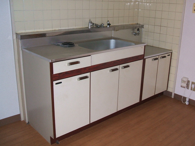 都築ハイツ 303号室のキッチン