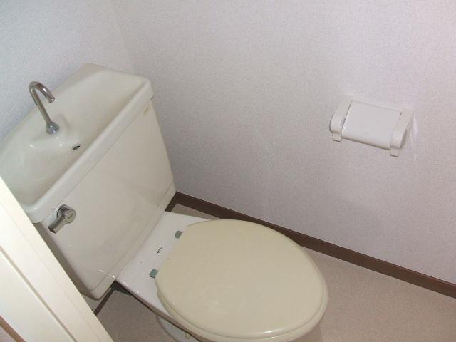 都築ハイツ 303号室のトイレ