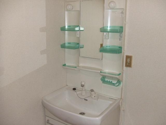 都築ハイツ 303号室の洗面所