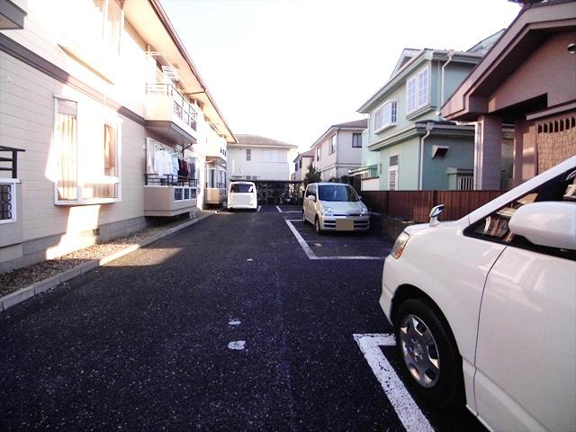 ハイツ井戸木 201号室の駐車場
