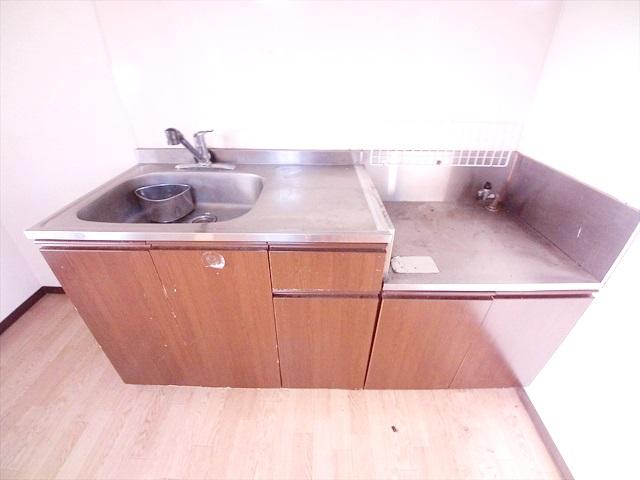 ハイツ井戸木 201号室のキッチン