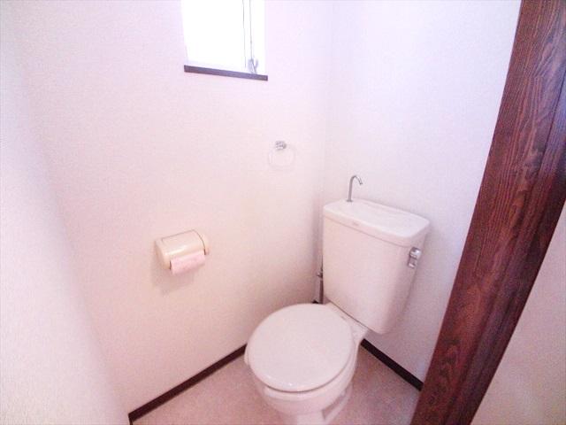 ハイツ井戸木 201号室のトイレ