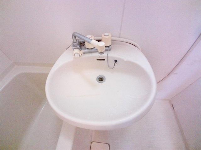 ハイツ井戸木 201号室の洗面所