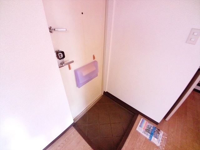 ハイツ井戸木 201号室の玄関