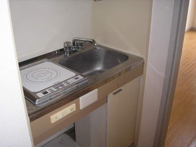 レオ上尾 201号室のキッチン