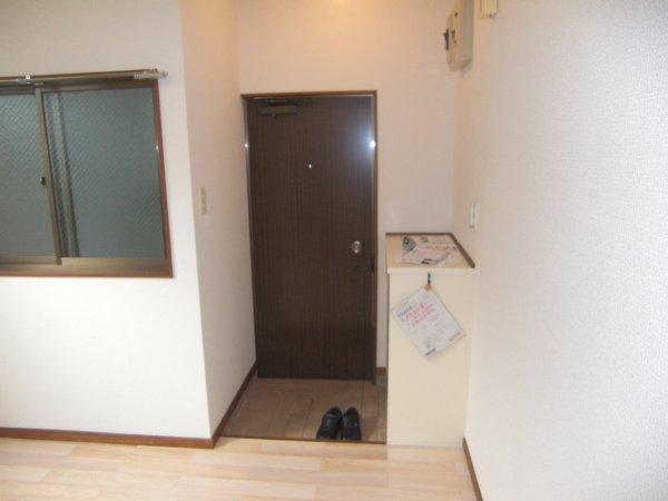 今井ビル 204号室の玄関