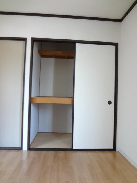 第3ちほコーポ 201号室の収納