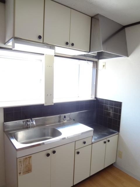 第3ちほコーポ 201号室のキッチン