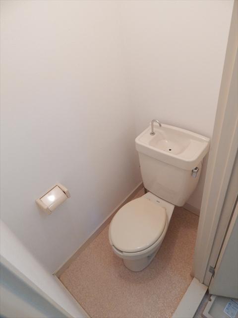 オリーブマンション 203号室のトイレ