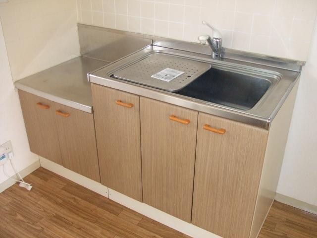 ロイヤルコーポ幸 B 202号室のキッチン