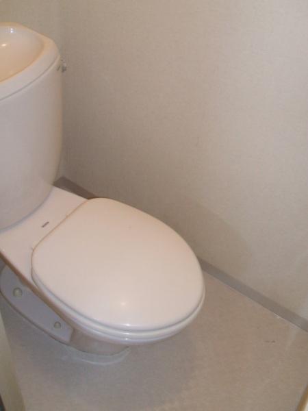 ロイヤルコーポ幸 B 202号室のトイレ
