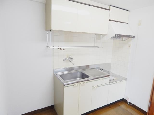 難波ビル 202号室のキッチン