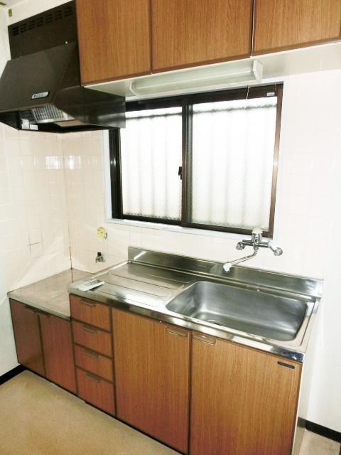 パレスグリーンフォレスト 101号室のキッチン