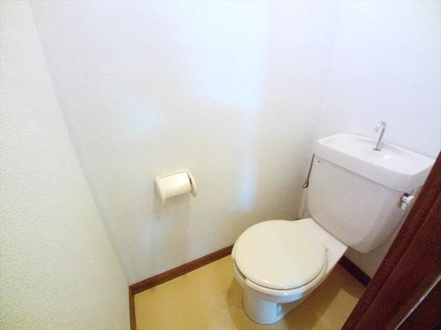 第2トミハイツ 2-B号室のトイレ