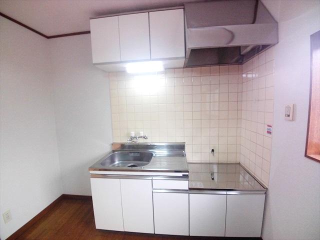 第2トミハイツ 2-B号室のキッチン