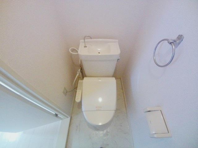 メゾンプチモンド A 102号室のトイレ