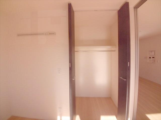 司 B 202号室の収納