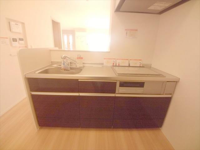 司 B 202号室のキッチン