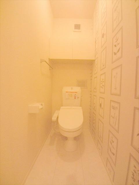 司 B 202号室のトイレ