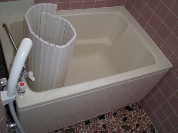 川上ハイツ 201号室の風呂
