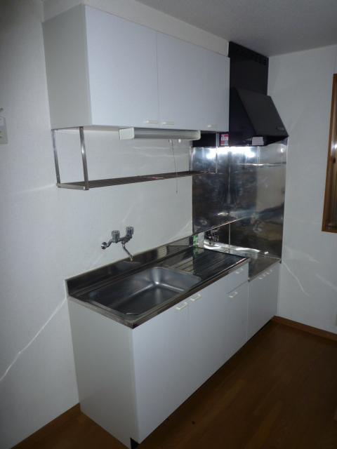 カーサAOKI 202号室のキッチン
