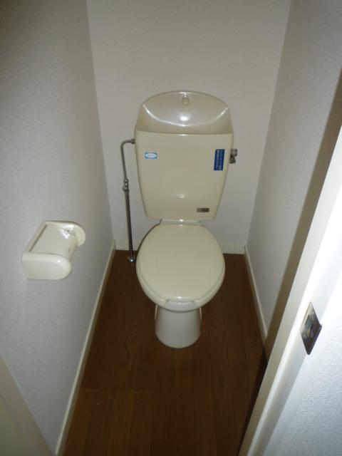 パレス岡出山 106号室のトイレ