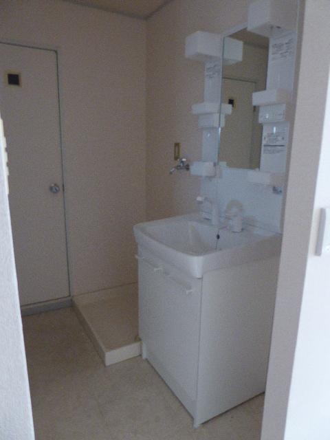 レインボーホーム 202号室の洗面所