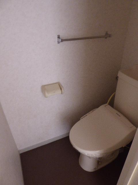 レインボーホーム 202号室のトイレ
