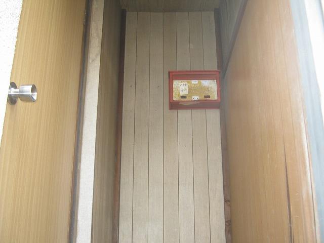 和泉荘 6号室の玄関