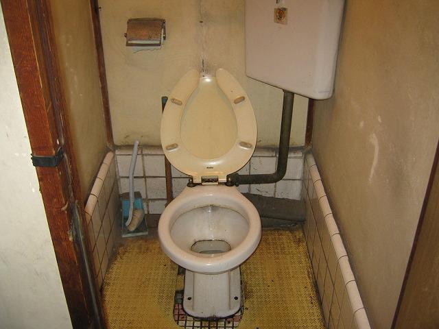 和泉荘 6号室のトイレ
