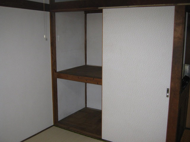 和泉荘 6号室の収納