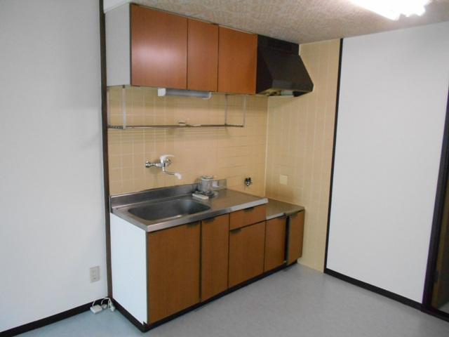 プルミエール 302号室のキッチン