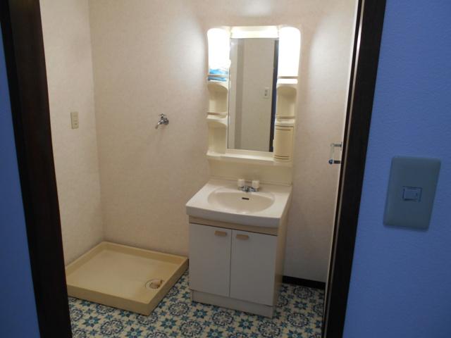 プルミエール 302号室の洗面所