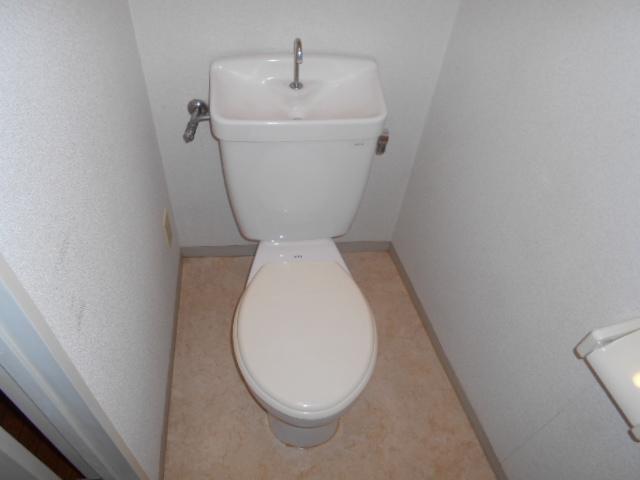 大平コーポラスⅡ 106号室のトイレ
