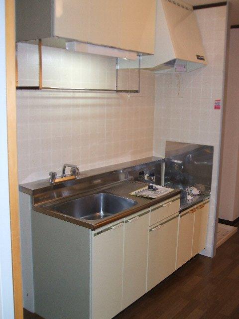 サープラスワンさくら 206号室のキッチン