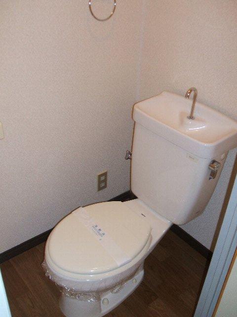 サープラスワンさくら 206号室のトイレ