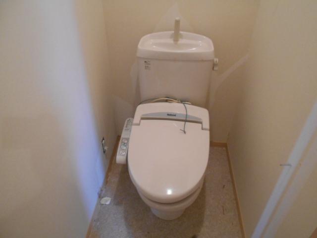 パラシオン 201号室のトイレ
