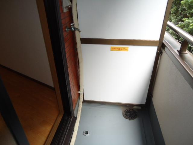 ロイヤルビラ 203号室のバルコニー