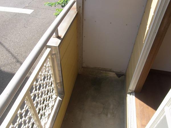 サンマーシュ府中 102号室のバルコニー