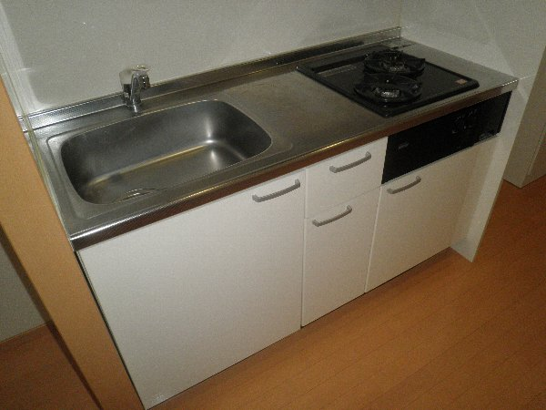 クヴェラ 102号室のキッチン