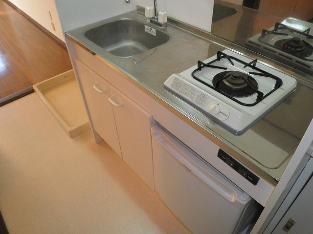 アーバンパレス鷹の台 105号室のキッチン