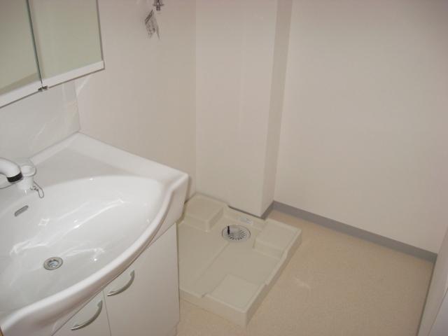 ディアマンテ 202号室の洗面所
