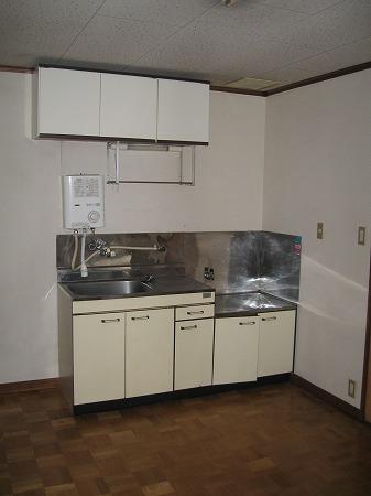 第2ベルハイツ B202号室のキッチン