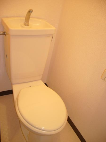 AKK NO1ビル 1B号室のトイレ